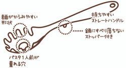キャッチ麺サーバー / Delijoy Noodle Catcher