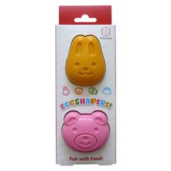 ゆでたまごっこ(うさぎ&くま) / Boiled Egg Mold - Bear & Rabbit