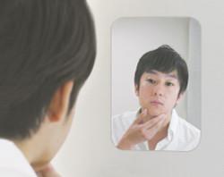 Pitacco mono スマートミラー Sサイズ   / Reattachable Mirror - Small (140x195mm)