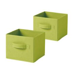 収納ボックス キューブ型ミニ 2個入  / SS Collapsible Cube 2pcs