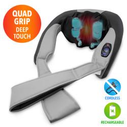 【送料無料】Grip & Grab Neck Rub Massager Cordless with Heat