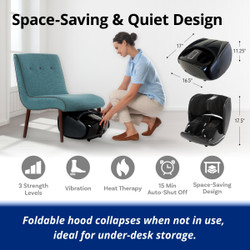 【送料無料】Ninja Leg Massager 2 (Foldable 2 in 1)
