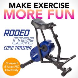 【展示品・開封品】ローインパクト コア エクササイズ マシン Rodeo Core (90日保証付き)