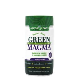 【免疫力アップ】オーガニック グリーンフーズ社 グリーンマグマ 大麦若葉(250タブレット)