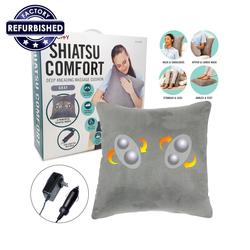 【メーカー再生品】Shiatsu Comfort Pillow 2 Sets(Factory Refurbished)(90日保証付き)