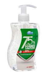ハンドサニタイザー 500ml(アルコール度数 75%)/ Instant Hand Sanitizer (Contain 75% Alcohol Gel) 500ml