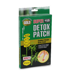 竹酢 樹液シート Detox Patch Gold / Detox Patch Gold