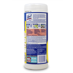 Lysol Disinfecting Wipes lemon & lime blossom scent 35 sheets