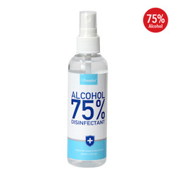 携帯用75% アルコール除菌スプレー (100ml) x12本セット / Fourplus - 75% Alcohol Disinfectant Spray - 100ml x12 bottles set