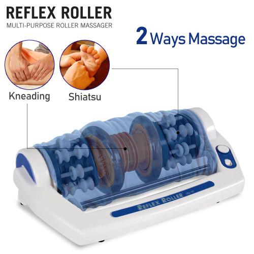 【展示品・開封品】指圧足裏マッサージャー Reflex Roller (90日保証付き)