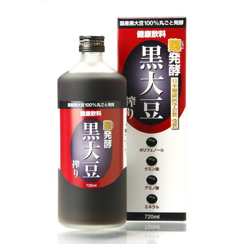 【免疫力アップ】日本健康医学会賞 受賞  健康飲料酢 堤酒造 発酵 黒大豆搾り