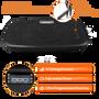 Vitality Plate 3D Vibration Platform Workout Machine w/ Balance Straps