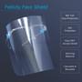 フェイスシールド(耳かけタイプ) 箱入り 2個セット / Felicity Sanitary Face Shield 2pcs set /w box