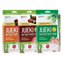 Jueki Detox Foot Pad with Natural Detoxifying Herbs 3 Box Set (Bamboo Vinegar, Argan Oil and Shea Butter) (8 pads x3)