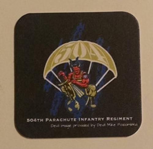 504TH PIR Coaster