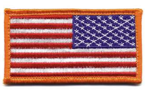 American Flag Patch (Reverse)