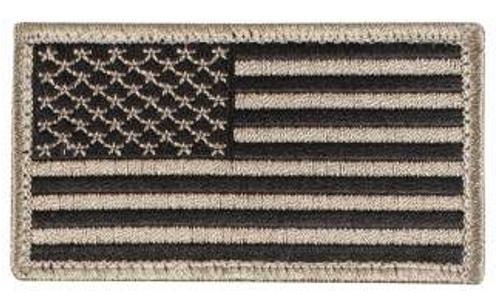 American Flag Patch (Black/Khaki)