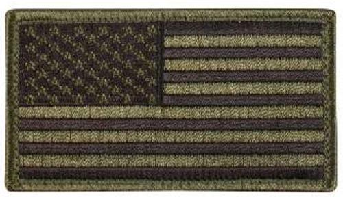 American Flag Patch (Black/OD)