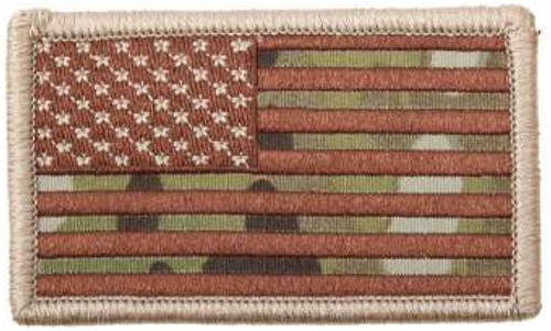 American Flag Patch (Multicam)