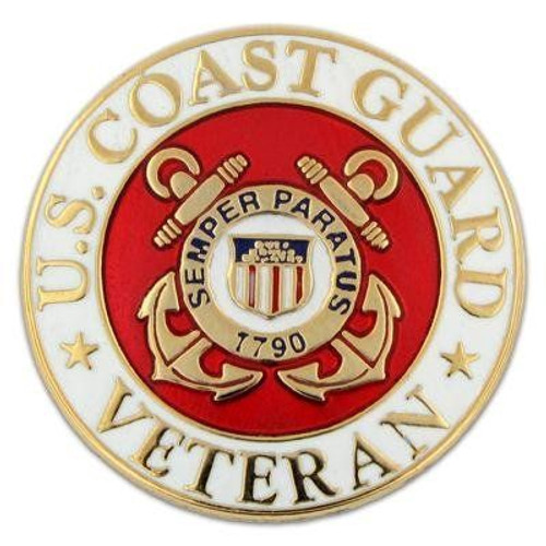 U.S. Coast Guard Veteran Pin
