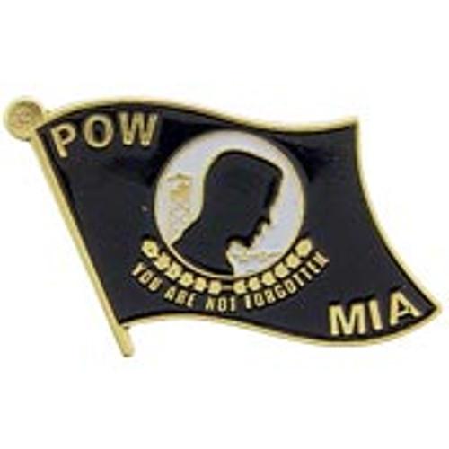 POW*MIA pin