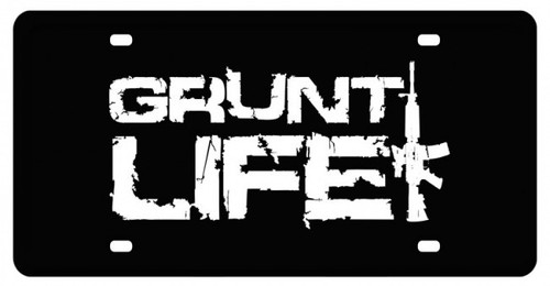 Gruntlife Stacked License Plate (12X6)