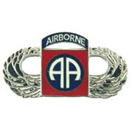 U.S. Army 82nd Airborne w/ Wings pin