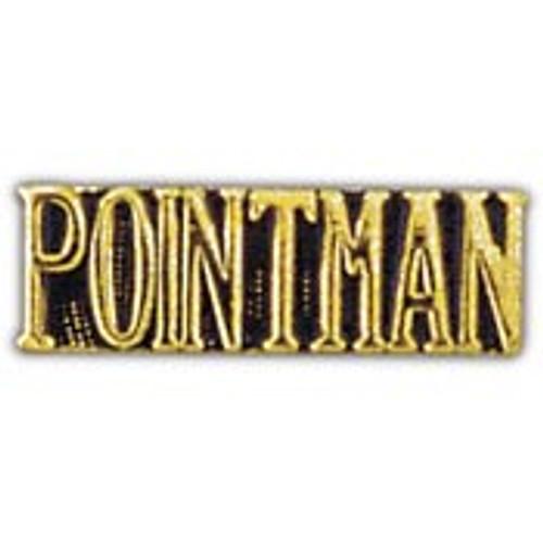 Pointman pin