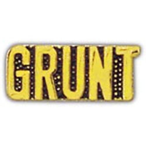 Grunt pin