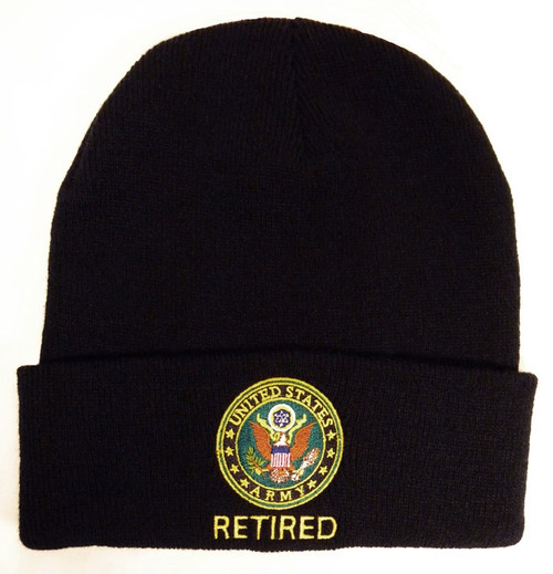 U.S. Army Retired Watch Cap