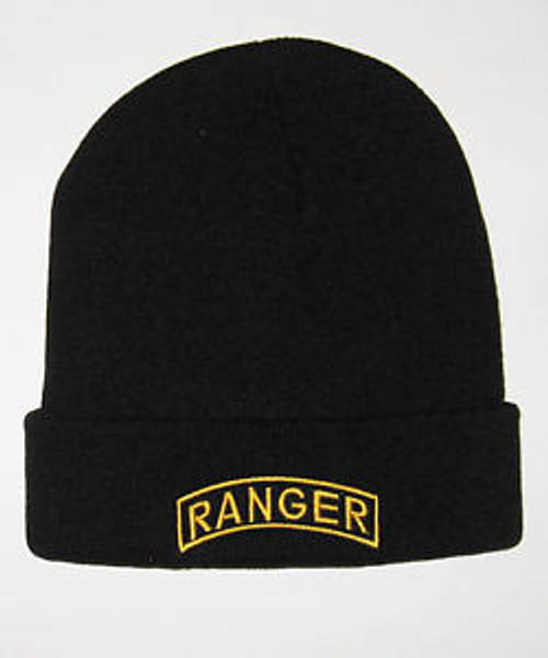 U.S. Army Ranger Tab Watch Cap