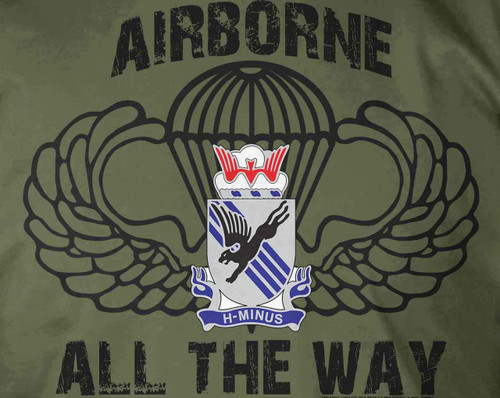 505th PIR Airborne All The Way T-Shirt