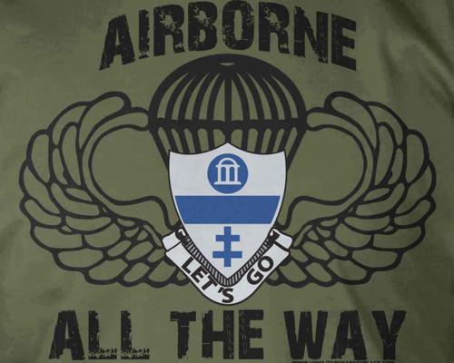325th AIR Airborne All The Way T-Shirt
