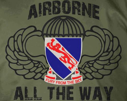 508th PIR Airborne All The Way T-Shirt