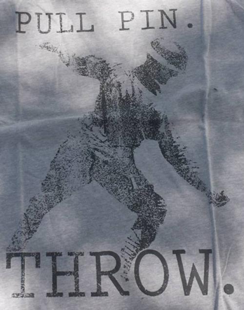 Pull Pin Throw (Grunt Style) T-Shirt