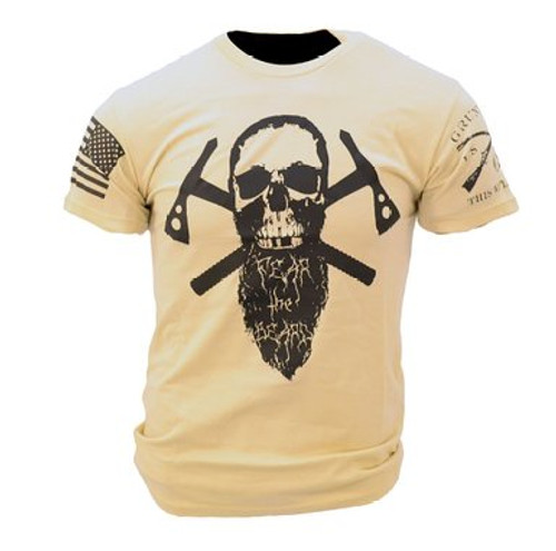Fear The Beard (Grunt Style) T-Shirt (Size S)