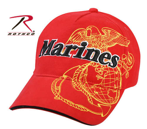 Marines Red Baseball Cap
