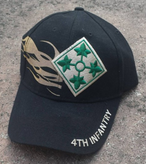 4th Infantry Division Iron Horse Baseball Cap