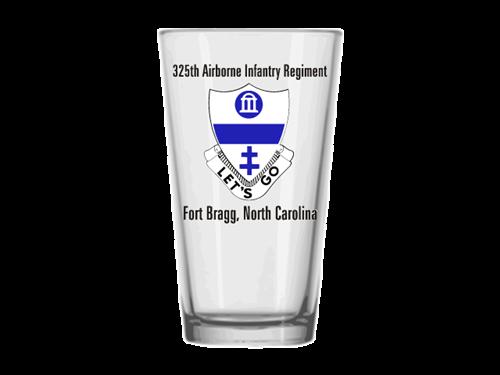 325th Airborne Infantry Regiment Pint Glass