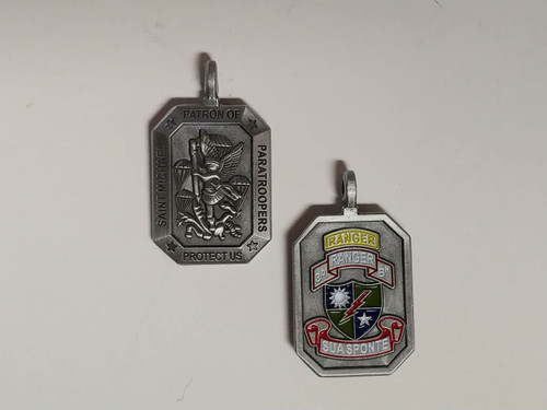 3/75 RANGER REGIMENT Saint Michael Medallion