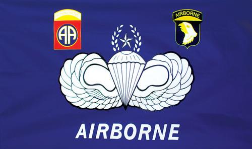 82nd 101st Airborne 3X5 Flag