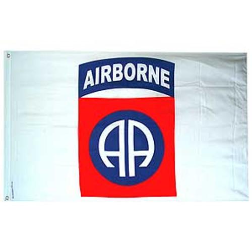 82nd Airborne Division White 3X5 Flag