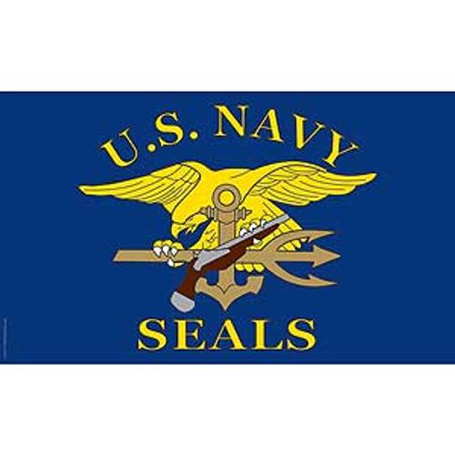United States Navy SEALS 3X5 Flag
