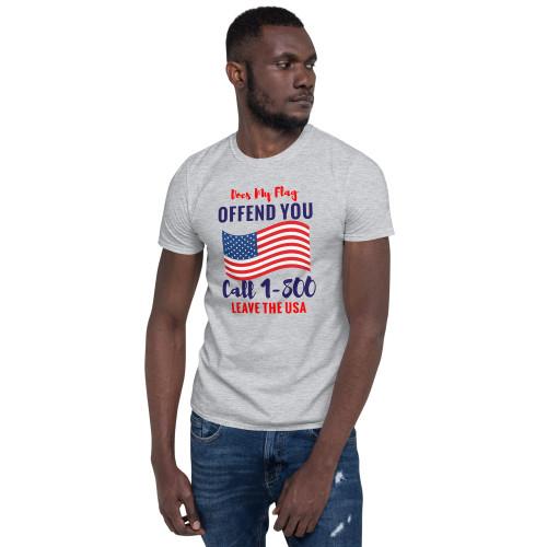 1-800 Leave USA Short-Sleeve Unisex T-Shirt