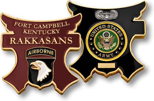 Fort Campbell, KY, Rakkasans Challenge Coin