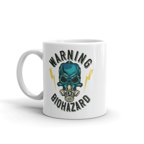 Warning Biohazard Mug
