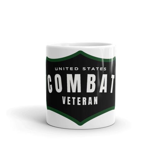 Combat Veteran Logo Mug