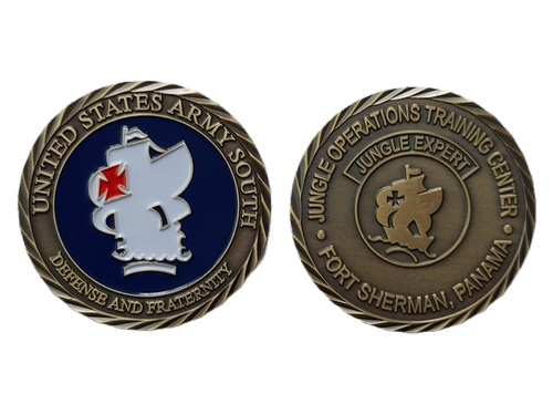 Jungle Operations Training Center (J.O.T.C)  Challenge Coin