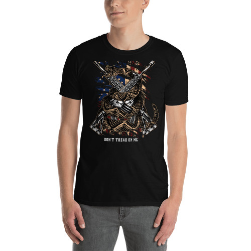 Don't Tread On Me (Snake and Rifles) Short-Sleeve Unisex T-Shirt
