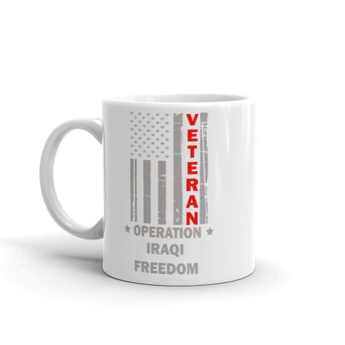 Operation Iraqi Freedom Veteran Mug